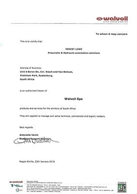 Ernest Lowe - Walvoil Dealer Certification - 22-01-2018 - thumbnail