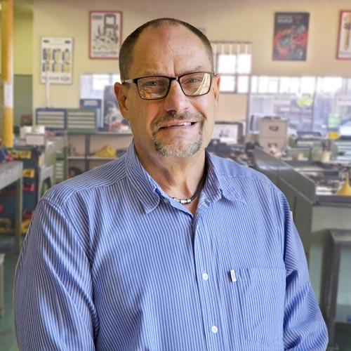Marius van der Merwe - Engineering Manager