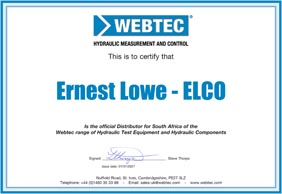 Ernest Lowe - Webtec Distribution Certificate - 2019 - thumbnail